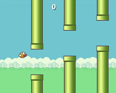 jQuery Flappy Bird