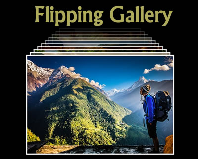 jQuery Flipping Gallery