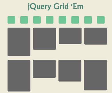 jQuery Grid 'Em Plugin