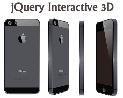 jQuery Interactive 3D Plugin