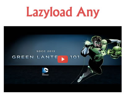 jQuery LazyLoad Any