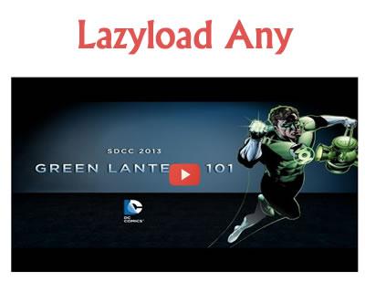 jQuery LazyLoad Any
