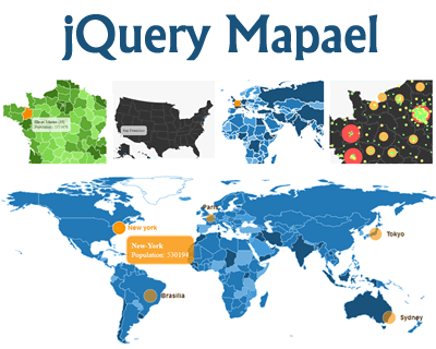 jQuery Mapael – Build Dynamic Vector Maps