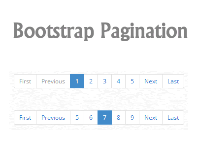 jQuery Pagination Plugin for Bootstrap