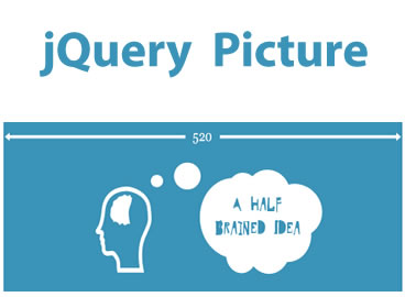 jQuery Picture  – jQuery Plugin to Help Ease the Transition to Responsive Images