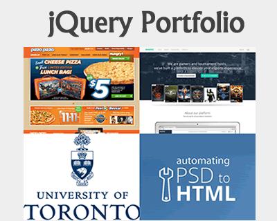 jQuery Portfolio – Slick and Modern Portfolio Plugin