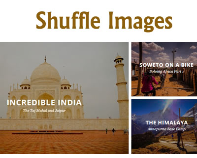 jQuery Shuffle Images