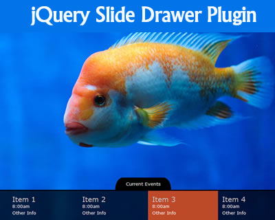 jQuery Slide Drawer Plugin