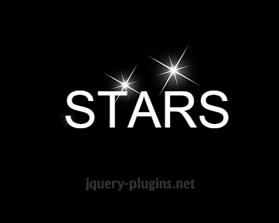 jQuery Star Flashing Effect
