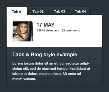 tNews – XML Driven jQuery Tabbed News & Content Slider