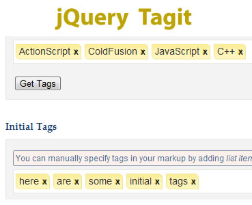 jQuery Tagit – A jQuery Tagging Plugin