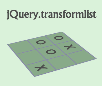 jquery.transformlist – CSS3 Transform Styles and Animations for jQuery