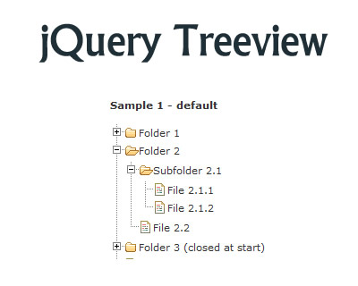 jQuery Treeview Plugin
