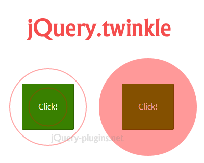 jQuery.twinkle – jQuery Plugin to Get Users Attention