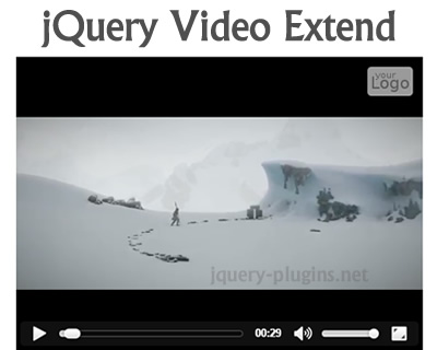 jQuery Video Extend