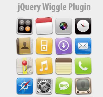 jQuery Wiggle Plugin