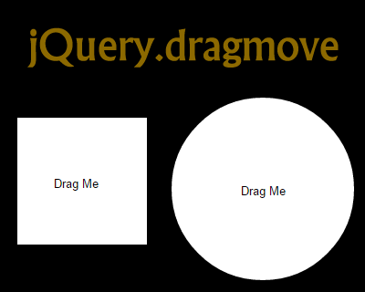jQuery.dragmove –  jQuery Extension for Dragging DOM Elements