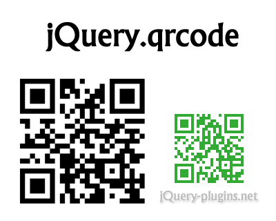 jQuery.qrcode – jQuery Plugin to Dynamically Generate QR Codes