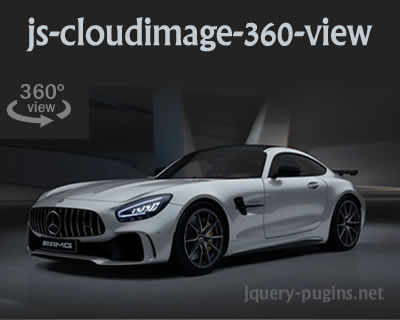 JS Cloudimage 360 View for Your Products