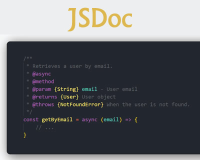 JSDoc – API Documentation Generator for JavaScript