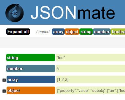 JSON Editor jQuery Plugin