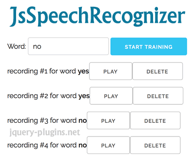 JsSpeechRecognizer – JavaScript Speech Recognition
