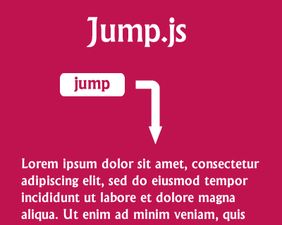 Jump.js – Smooth Scrolling Library