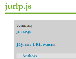 jurlp.js - Parsing, Manipulating, And Filtering URLs With jQuery