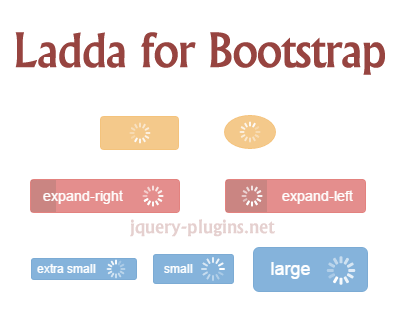 Ladda UI for Bootstrap