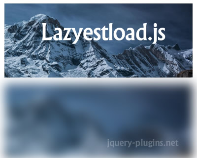 Lazyestload.js – Javascript Library for Image Lazy Loading