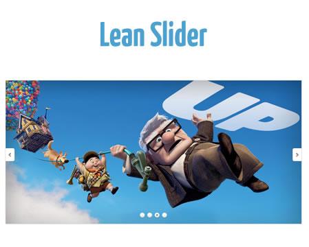 Lean Slider – Progressive jQuery Image Slider