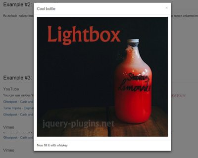 Lightbox for Bootstrap 3