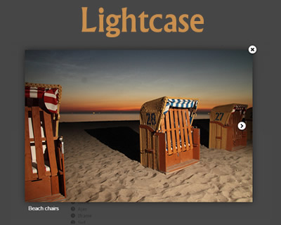 Lightcase – Flexible and Responsive Lightbox Plugin