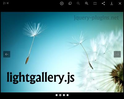 Lightgallery.js – Full Featured Javascript Lightbox Gallery