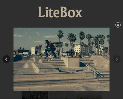 LiteBox – jQuery Lightbox/Modal Window Plugin