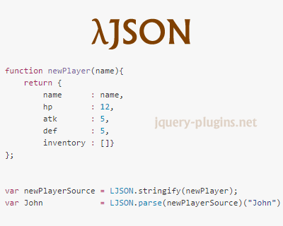 λJSON – Extend JSON with Pure Functions