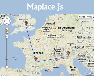 Maplace.Js – Javascript Helper for Google Maps