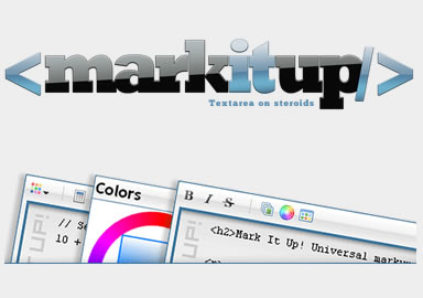 markItUp! – Universal Markup jQuery Editor