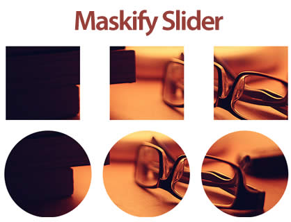 Maskify Slider – Slider with Image Mask Effect