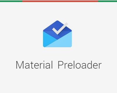 Material Design Preloader | jQuery Plugins