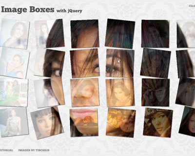 Merging Image Boxes With jQuery