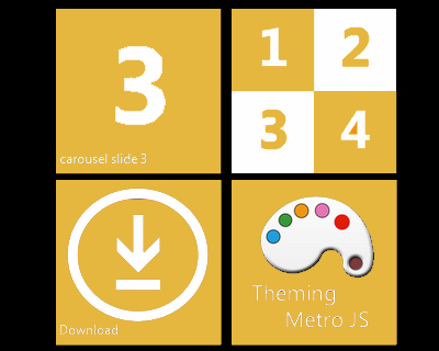 Metro JS – Metro Live Tiles and Modern UI Tools for jQuery