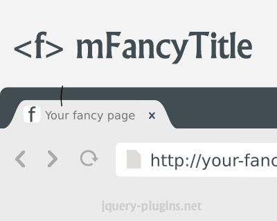 mFancyTitle – jQuery Plugin to Animate Your Page Title and Favicon