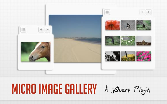 Micro Image Gallery - A jQuery Plugin