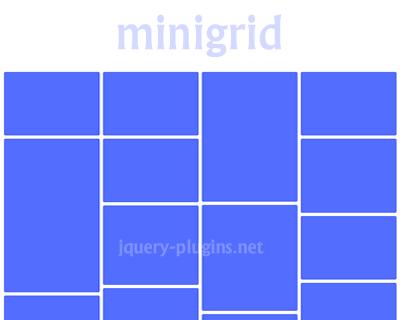Minigrid – Minimal Cascading Grid Layout.
