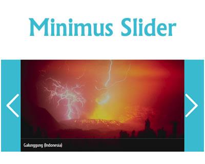 Minimus Slider – Responsive jQuery Slider