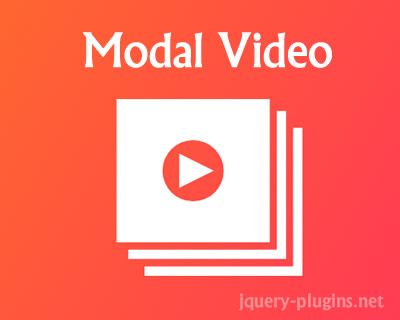 Modal Video – jQuery Modal Video Plugin