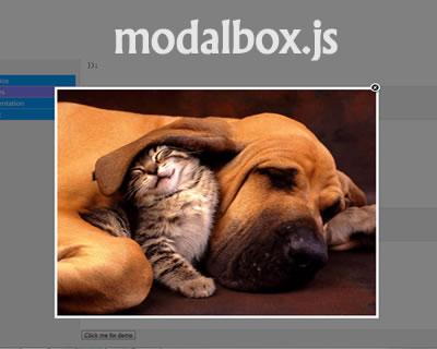 modalbox.js – jQuery Modal Window Plugin
