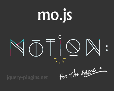 mo.js – Motion Graphics Library  for the Web
