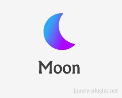 Moon – Minimal, Blazing Fast UI Library